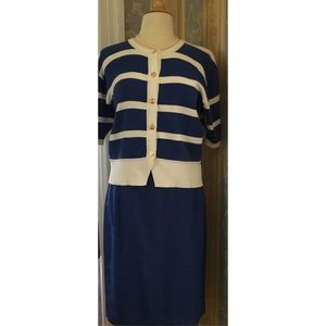 Ann Taylor matching skirt and top set.